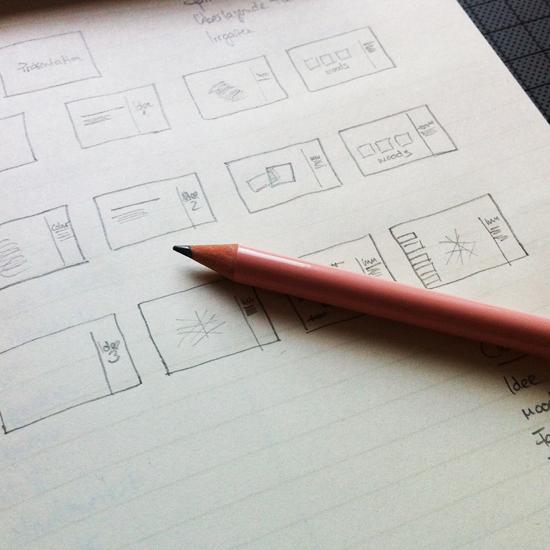 4 working,scribble